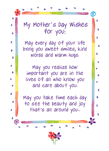 Funny mothers day card mothers day wishes from cardfool mothers day wishes card cover m4hsunfo