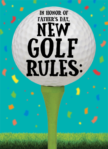 New Golf Rules FD Ecard Cover